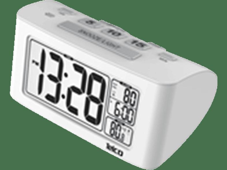 TELCO Ε0117S White - (03.032) είδη σπιτιού   μικροσυσκευές υπνοδωμάτιο  ρολόγια   ξυπνητήρια