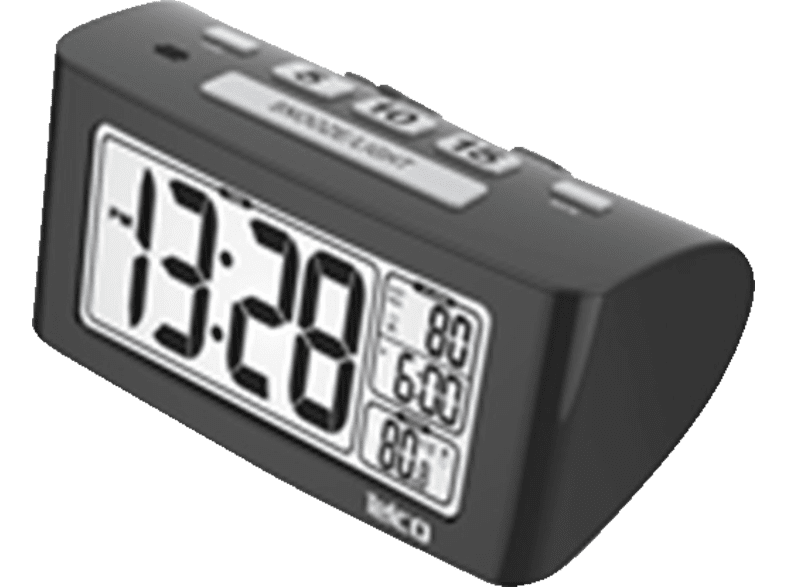 TELCO Ε0117S Black - (03.033) είδη σπιτιού   μικροσυσκευές υπνοδωμάτιο  ρολόγια   ξυπνητήρια