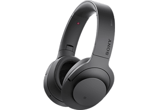 SONY MDR-100 ABN, Over-ear Kopfhörer, Near Field Communication, Bluetooth, Schwarz