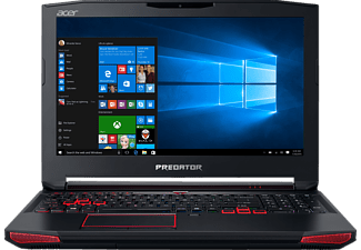 ACER Predator 15 (G9-592-70GD), Notebook mit 15.6 Zoll Display, Core i7 Prozessor, 16 GB RAM, 1 TB HDD, 128 GB SSD, GeForce GTX 970M, Schwarz