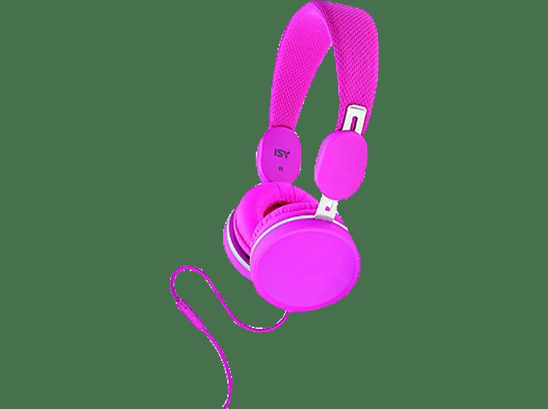ISY IHP1500 Pink αξεσουάρ ακουστικά ακουστικά headphones hobby   φωτογραφία ακουστικά   deactivat