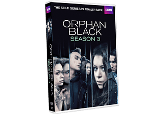 Orphan Black S3 Thriller DVD