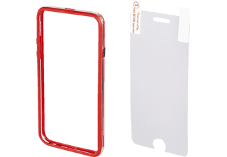 HAMA Edge Protector, Bumper, Apple, iPhone 6, iPhone 6s, Kunststoff, Rot