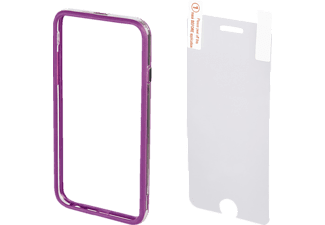 HAMA Edge Protector, Bumper, Apple, iPhone 6, iPhone 6s, Kunststoff, Lila