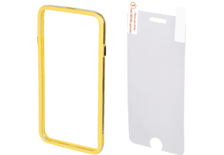 HAMA Edge Protector, Bumper, Apple, iPhone 6, iPhone 6s, Kunststoff, Gelb