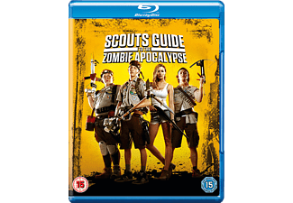 Scouts Guide to the Zombie Apocalypse Skräck Blu-ray
