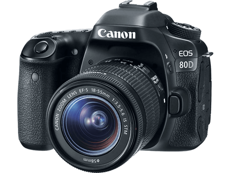 CANON EOS 80D EF-S 18-55mm IS STM - (1263C035AA) photo   video   offline φωτογραφικές μηχανές dslr cameras hobby   φωτογραφία φωτ