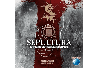 Sepultura with Les Tambours Du Bronx - Metal Veins – Alive At Rock In Rio (CD)