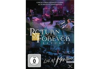 Return To Forever - Return To Forever - Returns - Live At Montreux 2008 - (Blu-ray)
