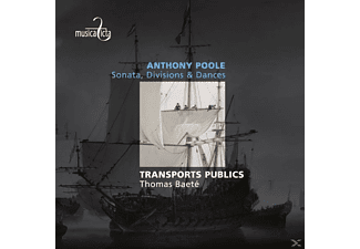 Transports Publics - Sonata,Divisions & Dances - (CD)