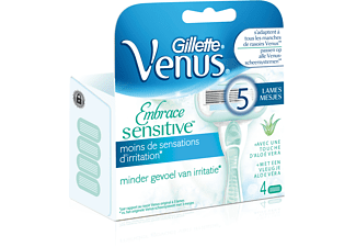 GILLETTE Venus Embrace Sensitive-messen (4 stuks)