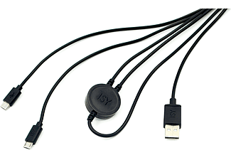 ISY IC-601 Dual Charging Cable
