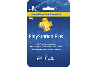Sony PlayStation PlayStation Plus Card 12 Maanden NL