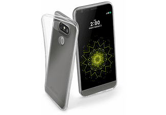 CELLULAR LINE 37417 FINECLGG5T COVER F. LGG5, TR., Backcover, G5, Flexibles TPU, Transparent
