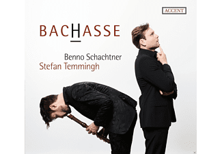 Stefan Temmingh, Benno Schachtner, The Gentleman's Band - Bachasse-Opposites Attract - (CD)