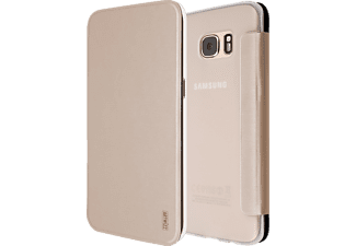 ARTWIZZ SmartJacket, Flip Cover, Samsung, Galaxy S7 edge, Polyurethan, Gold