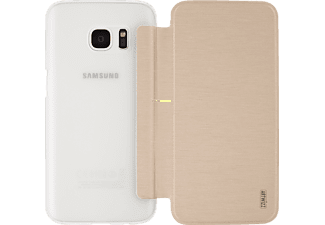 ARTWIZZ SmartJacket, Flip Cover, Samsung, Galaxy S7, Polyurethan, Gold