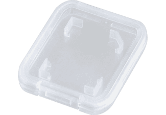 HAMA SD-Card Speicherkartenbox , SD, MMC  , Transparent