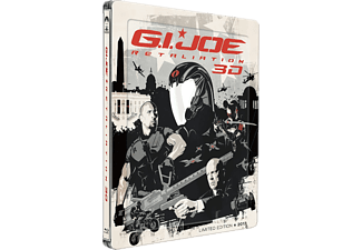G.I Joe: Retaliation 3D - Steelbook Action Blu-ray 3D
