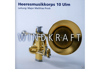 Heeresmusikkorps 10 Ulm - Windkraft - (CD)
