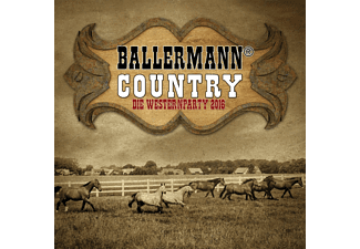 VARIOUS - Ballermann Country Die Westernparty 2016 - (CD)