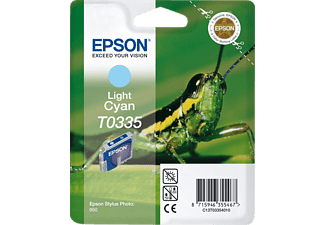 EPSON Original Tintenpatrone Grashüpfer Light Cyan (C13T03354010)