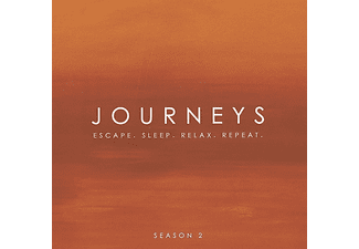Journeys: Escape. Sleep. Relax. Repeat, Vol. 2 CD