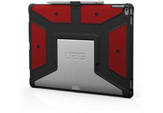 URBAN ARMOR GEAR UAG-IPDPRO-RED-VD, Backcover, iPad Pro, 12.9 Zoll, Rot/Schwarz