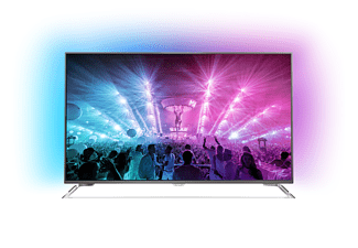 PHILIPS 55PUS7101/12, 139 cm (55 Zoll), UHD 4K, SMART TV, LED TV, 2000 PPI, Ambilight 3-seitig, DVB-T2 HD, DVB-C, DVB-S, DVB-S2