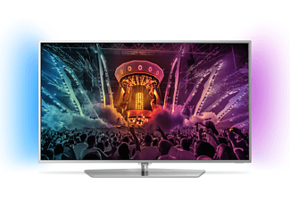 PHILIPS 55PUS6551/12 LED TV (Flat, 55 Zoll, UHD 4K, SMART TV, Android TV)