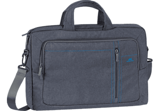 RIVACASE 7530 Grey Laptop Canvas 15.6""