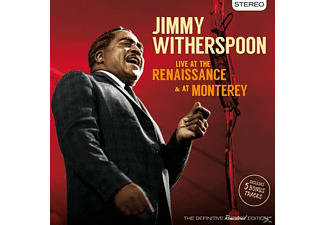 Jimmy Witherspoon - Live At The Renaissance & At The Monterey+5 Bonu - (CD)