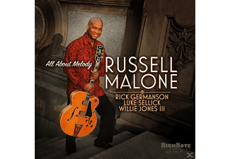 Russell Malone, Rick Germanson, Luke Sellick, Willie Jones III - All About Melody - (CD)