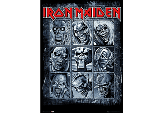 Iron Maiden Poster Eddie's Evolution
