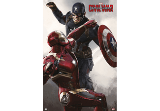 Captain America Poster Civil War Iron Man & Captain America