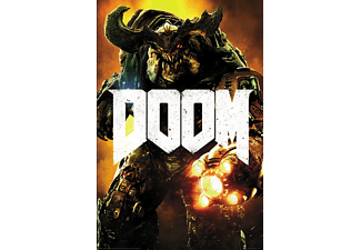 Doom 4 Poster Key Art Cyber Demon
