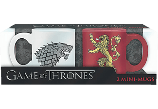 Game of Thrones Mini-Tassenset Stark und Lannister