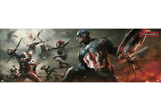 Captain America Poster Civil War Kampf