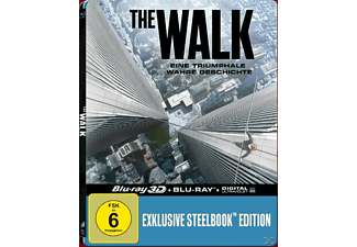 The Walk (Exklusive Lenticular Steelbook-Edition) [3D Blu-ray (+2D)]