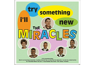 The Miracles - I'll Try Something New - (Vinyl)