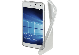HAMA Crystal, Backcover, Lumia 650, Thermoplastisches Polyurethan, Transparent