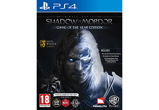 Middle Earth: Shadow of Mordor Game of The Year PS4