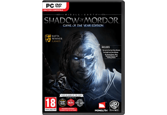 Middle Earth Shadow Of Mordor Game of the Year PC