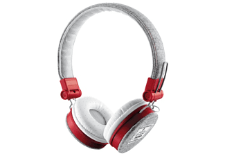 Fyber headphones Grey-Red