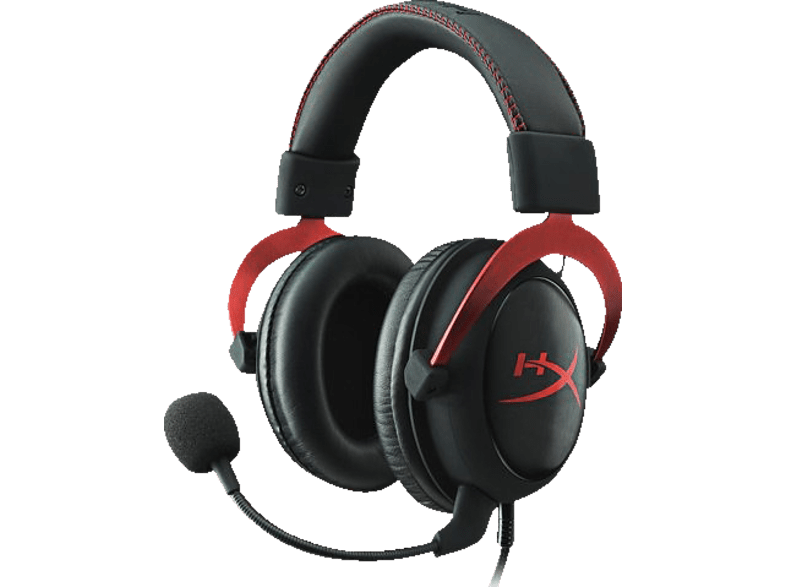 HYPERX Cloud II Headset Red - (KHX-HSCP-RD)  computing   tablets   offline αξεσουάρ gaming gaming   offline αξεσουάρ gaming