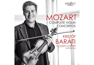Hungarian Chamber Orchstra - Complete Violin Concertos - (CD)