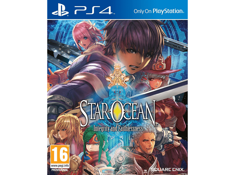 Star Ocean: Integrity and Faithlessness PS4 gaming   offline sony ps4 παιχνίδια ps4