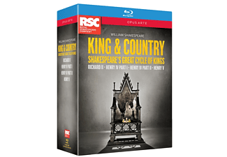 Royal Shakespeare Co - William Shakespeare - King & Country - (Blu-ray)