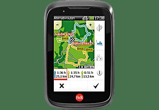FALK TIGER GEO, Fahrrad, Outdoor, Geocaching Navigationsgerät, 3.5 Zoll, Kartenmaterial Europa, Micro-SD Slot