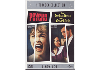 Hitchcock Collection: Psycho / Im Schatten des Zweifels (2 Movie Set) [DVD]